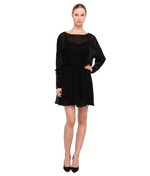 ZAC Zac Posen - ZP-16-5038-14 (Black) Women's Dress
