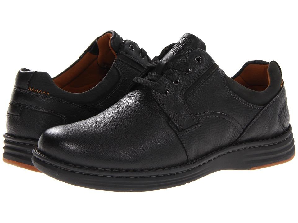 Dunham REVCrusade Plain Toe Oxford (Black) Men