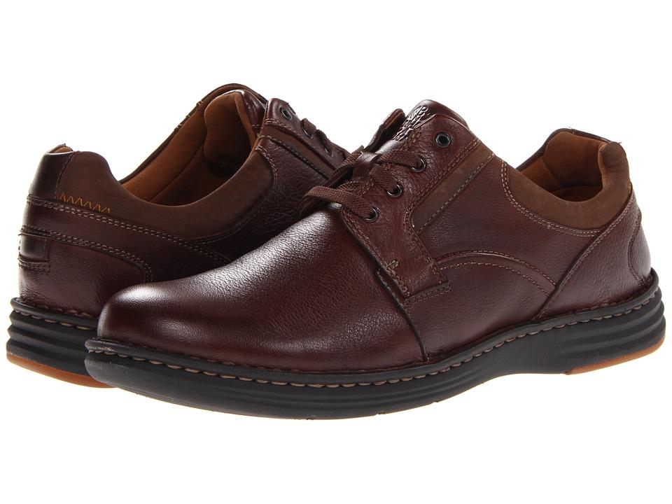 Dunham - REVCrusade Plain Toe Oxford (Dark Brown) Men