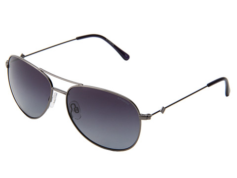 Polaroid Eyewear - P4327/S Polarized (A-Gunmetal/Blue Grad Polarized) Metal Frame Fashion Sunglasses