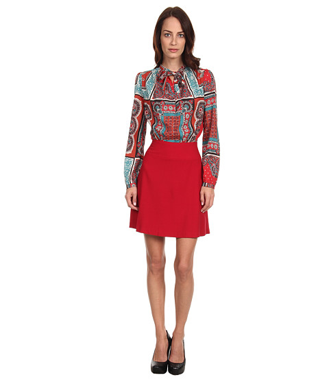 LOVE Moschino - WV C15 80 S1688 Dress (Red/Red Print) Women
