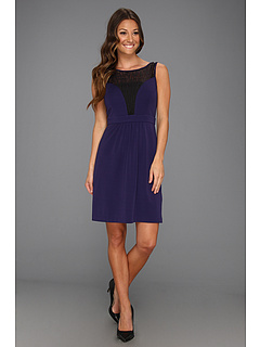 SALE! $64.99 - Save $93 on Ivy Blu Maggy Boutique Sleeveless Lace Insert Fit (Maritime) Apparel - 58.87% OFF $158.00