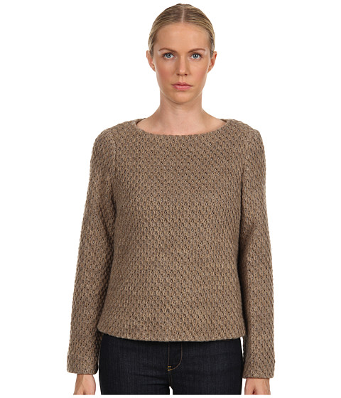 LOVE Moschino - W3 24000 M 3424 Top (Mocha) Women's Sweater