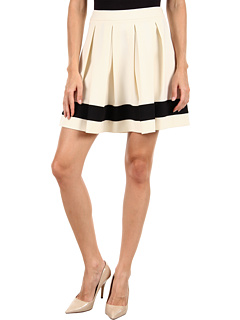 SALE! $196.99 - Save $158 on LOVE Moschino WG B88 80 S 2503 Skirt (White Black) Apparel - 44.51% OFF $355.00