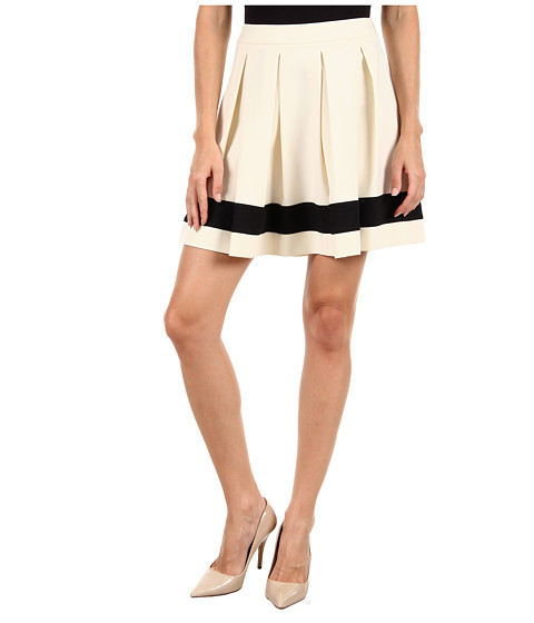 LOVE Moschino - WG B88 80 S 2503 Skirt (White/Black) Women's Skirt