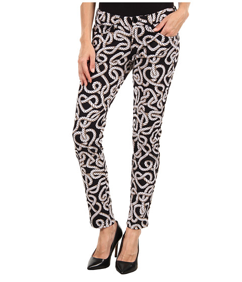 LOVE Moschino - W1 303 82E 1595 Pant (Black/White Rope Print) Women's Clothing