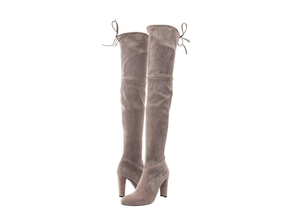 Stuart Weitzman - Highland (Topo Suede) Women's Dress Pull-on Boots