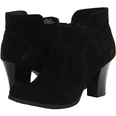 Born Claire (Black Suede) Footwear