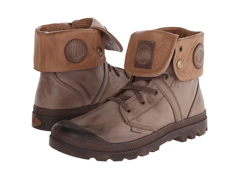 Palladium - Pallabrouse Baggy L2 (Chestnut) Men's Lace-up Boots