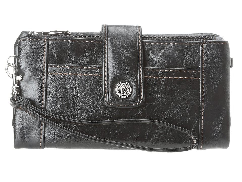 Relic - Vicky Tab Checkbook (Black Coffee) Checkbook Wallet