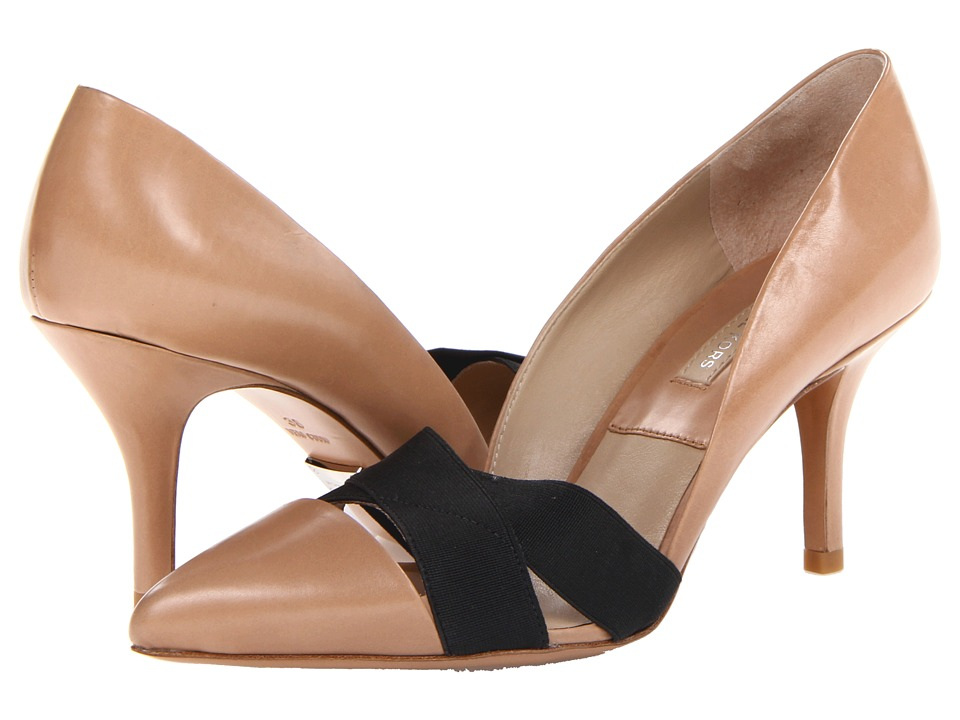 Michael Kors Stephanie (Toffee Smooth Calf/Elastic) High Heels