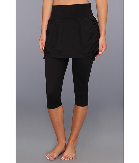 Spanx Active - Convertible Knee Pant (Black) Women's Workout