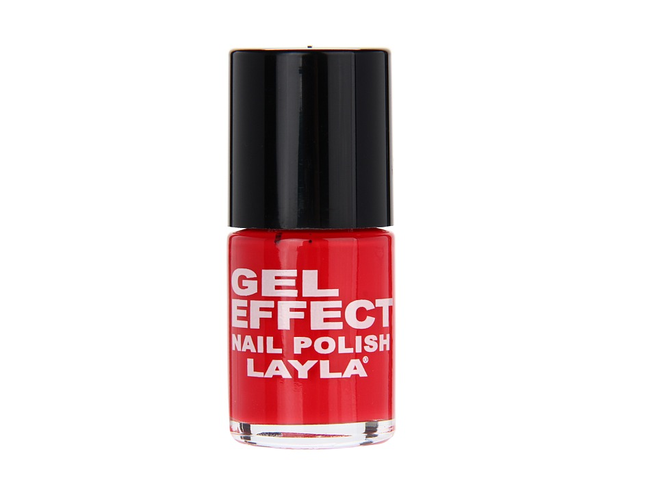 Layla - Gel Effect Nail Polish (Coral Red) Fragrance