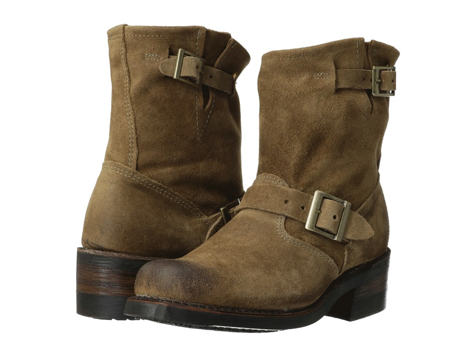 Walk-Over - Vintage Collection - Sophie (Natural Suede) Women's Pull-on Boots
