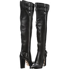 Michael Kors Collection Jayla (Black Vachetta) Footwear
