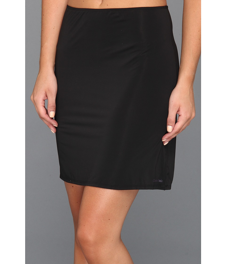 Calvin Klein Underwear - Launch Half Slip (Black) Women's Lingerie