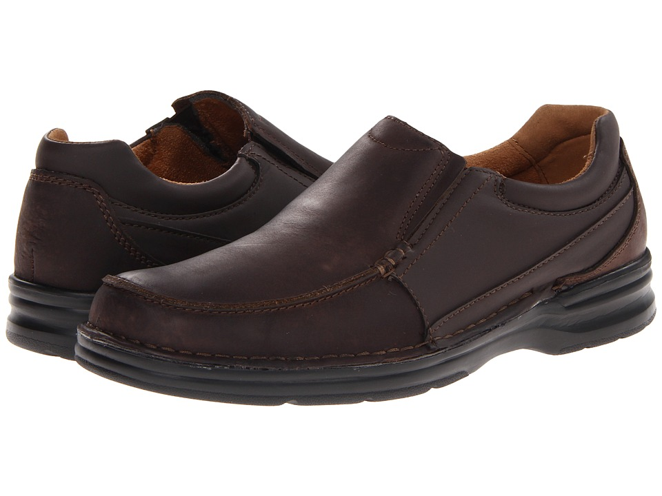 Nunn Bush - Patterson (Brown Crazy Horse) Men's Plain Toe Shoes
