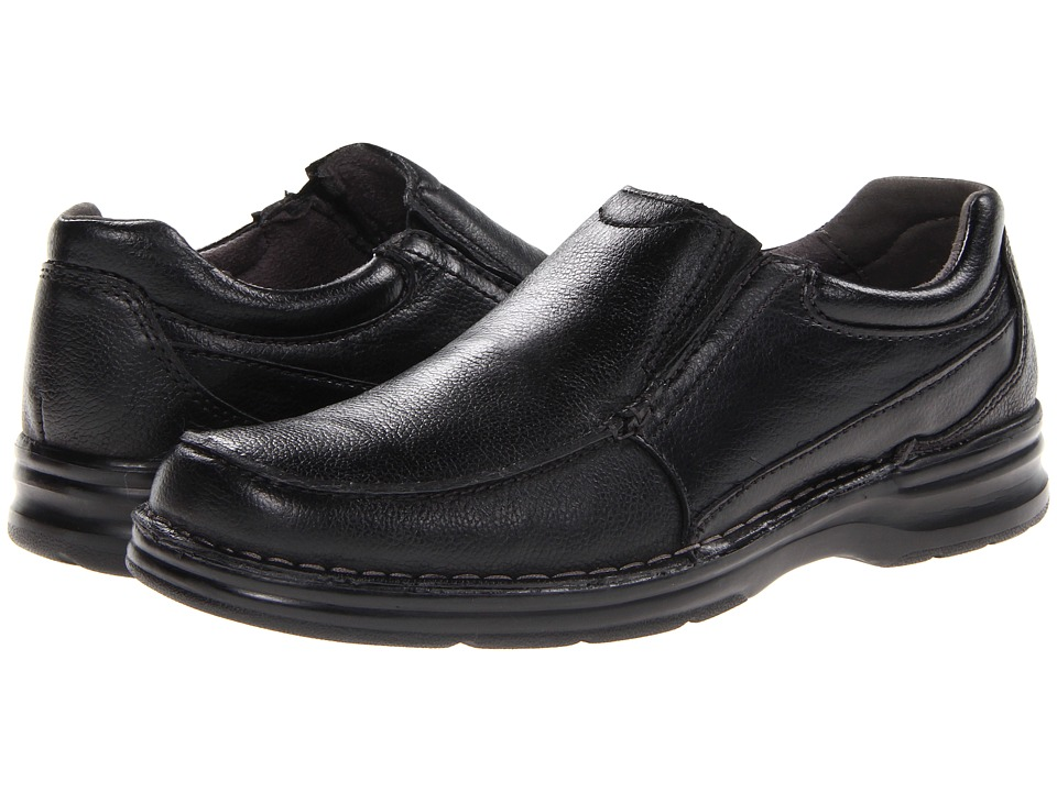 Nunn Bush - Patterson (Black) Men's Plain Toe Shoes