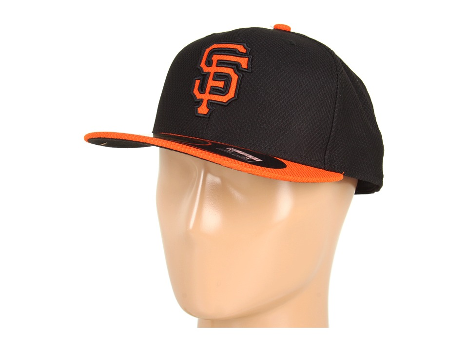 New Era - MLB San Francisco Diamond Era 59FIFTY (Black/Orange) Caps