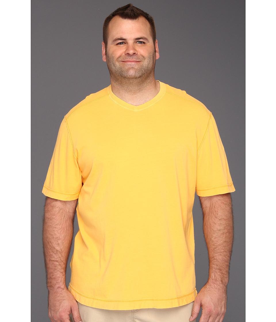 Tommy Bahama Big & Tall Big Tall Cohen V Neck Mens T Shirt (Orange)