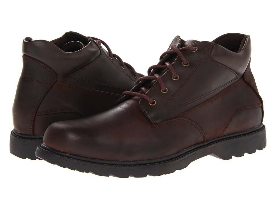 Nunn Bush - Winnebago Plain Toe Boot (Brown Crazy Horse) Men's Shoes