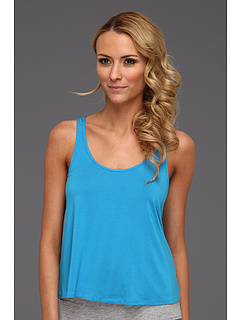 SALE! $14.99 - Save $31 on Splendid Color Splash Drapey Racerback Sleep Tank (Paradise City Blue) Apparel - 67.41% OFF $46.00