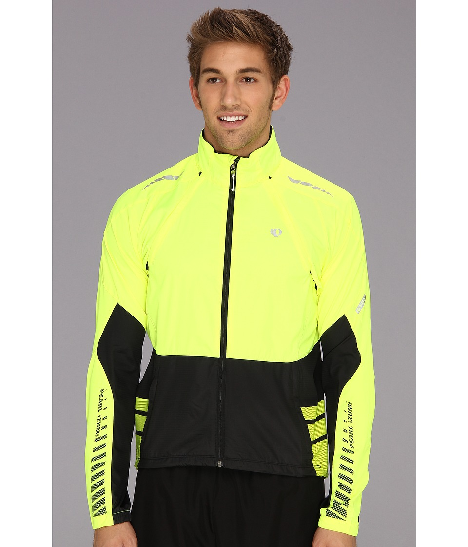 Pearl Izumi - Elite Barrier Convertible Cycling Jacket (Screaming Yellow/Black) Men's Workout