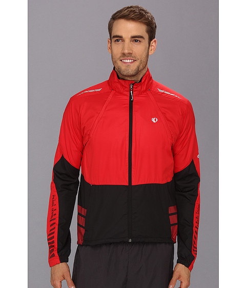 Pearl Izumi - Elite Barrier Convertible Cycling Jacket (True Red/Black) Men's Workout