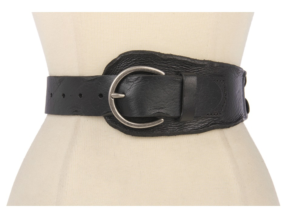 Bed Stu - Eastwood Belt (Black) Women's Belts