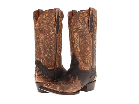 Dan Post - Lucky Break (Tan Rustic) Cowboy Boots