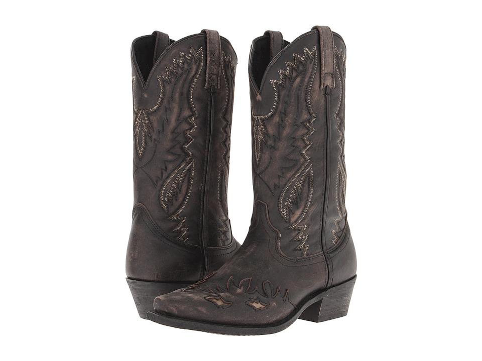 Laredo - Thomson (Black/Tan) Cowboy Boots