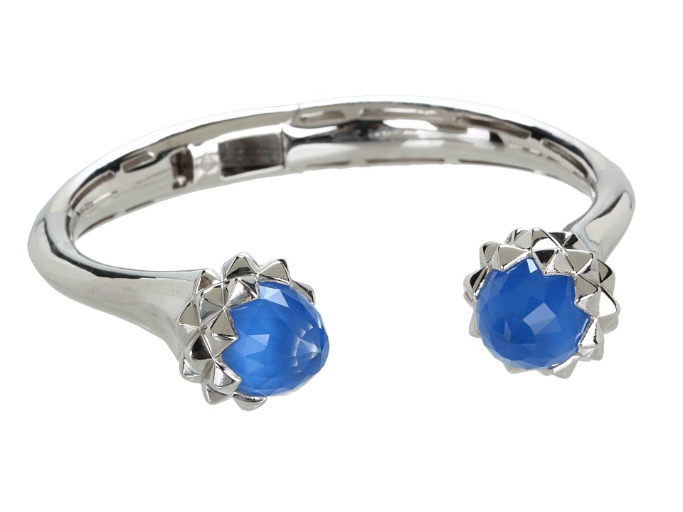 Stephen Webster - Superstud Cuff Bracelet (Sterling Silver/Blue Agate/Crystal) Bracelet