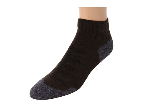 Keen - Olympus Lite 1/4 Crew (Slate Black) Women's Quarter Length Socks Shoes