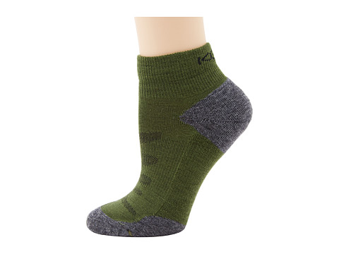 Keen Olympus Lite 1/4 Crew (Dark Green) Women's Quarter Length Socks Shoes