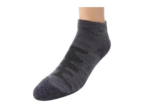 Keen - Olympus Lite 1/4 Crew (Gray) Women's Quarter Length Socks Shoes