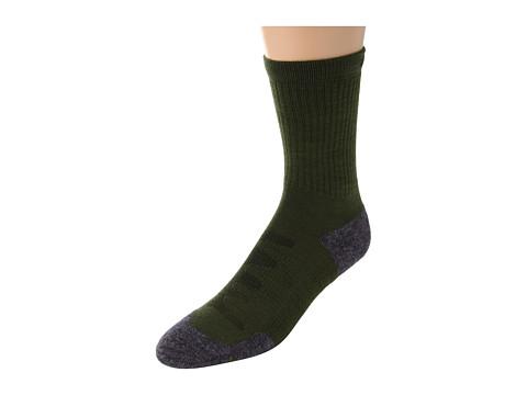 Keen Olympus Lite Crew (Dark Green) Women's Crew Cut Socks Shoes