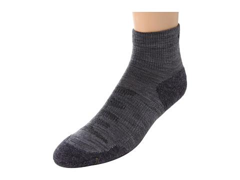 Keen Olympus Lite 1/4 Crew (Gray) Men's Quarter Length Socks Shoes