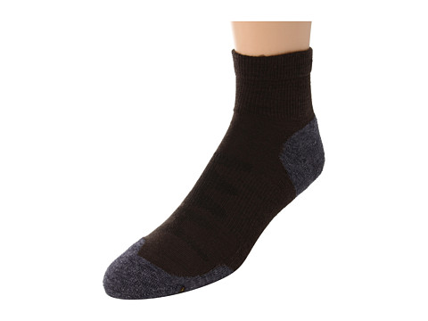 Keen Olympus Lite 1/4 Crew (Slate Black) Men's Quarter Length Socks Shoes