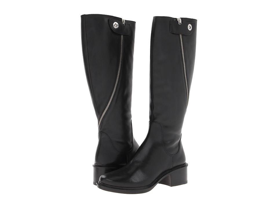 Elizabeth and James - Heidi (Black Leather) Women's Dress Zip Boots