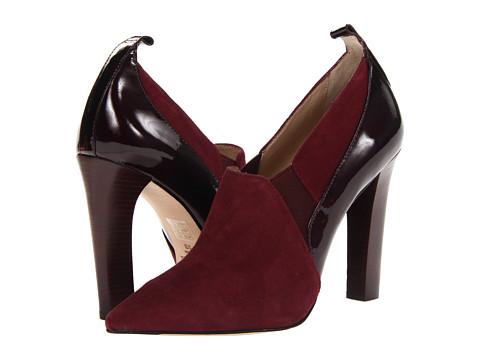 Elizabeth and James - Vida (Burgundy Suede) High Heels