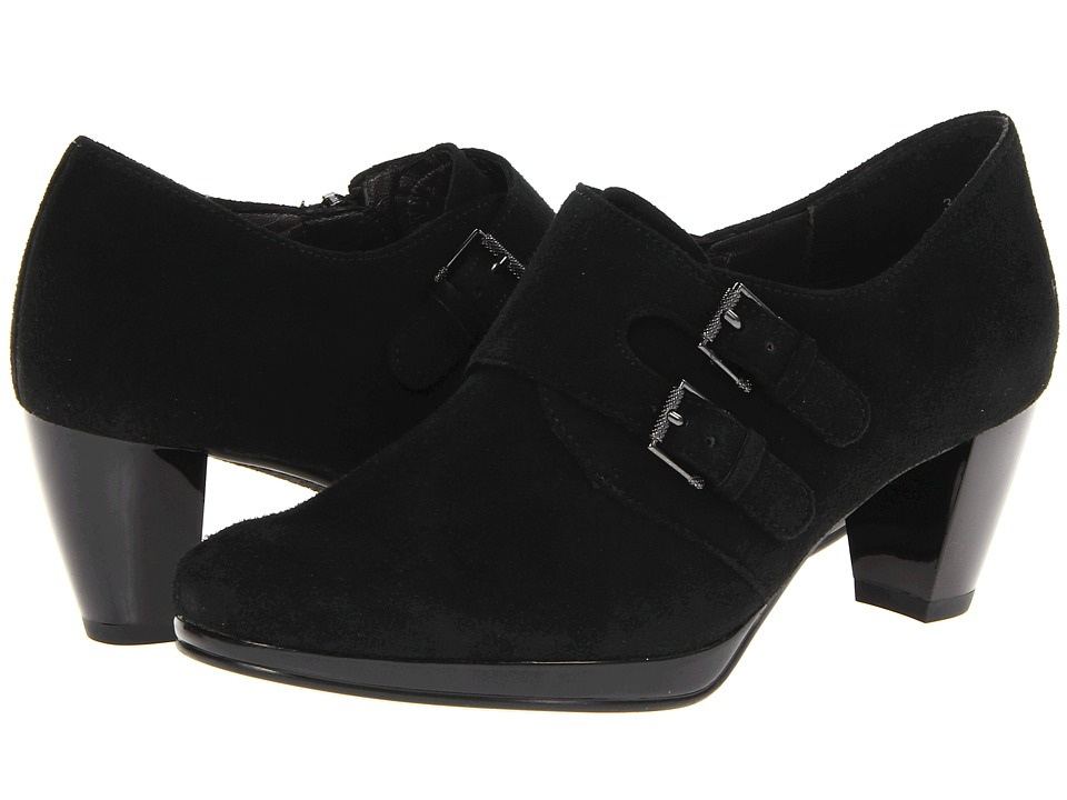 ara Treva (Black Suede) Women