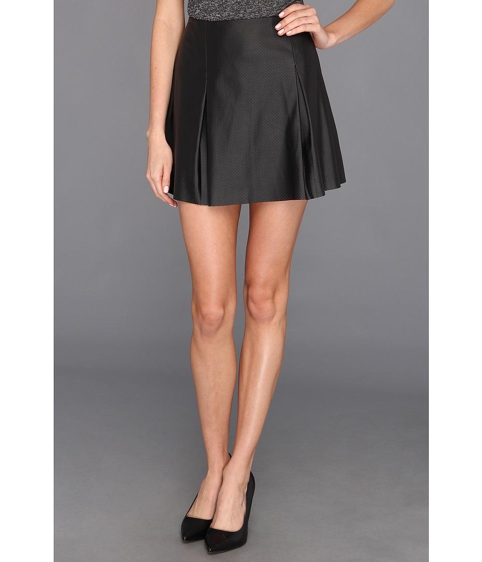BCBGeneration Pleated Short Skirt Womens Skirt (Black)