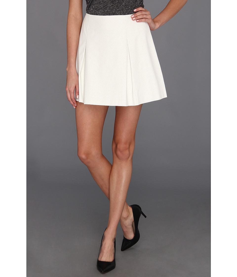 BCBGeneration Pleated Short Skirt Womens Skirt (White)