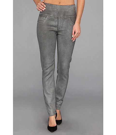Spanx - Wax Denim Leggings (Pewter Wax) Women