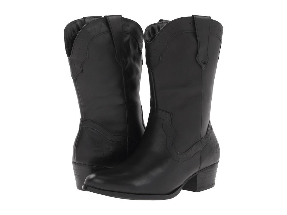 Harley-Davidson - Mackena (Black) Cowboy Boots