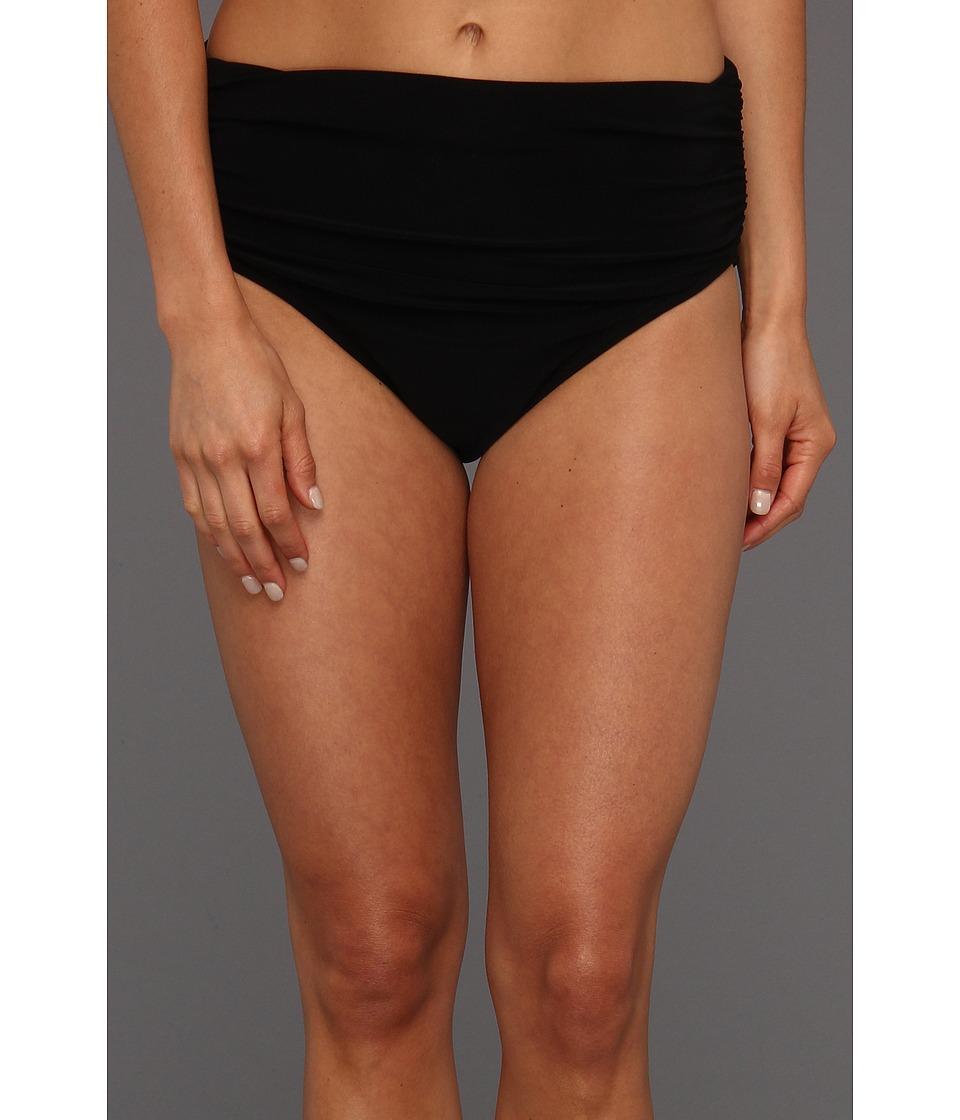 11559bcd807bf ... Brief Bikini Bottom 10 $68 Dbfl | upcitemdb UPC 806188026203 product  image for Magicsuit - Solid Jersey Bottom w/ Shirring (Black) ...