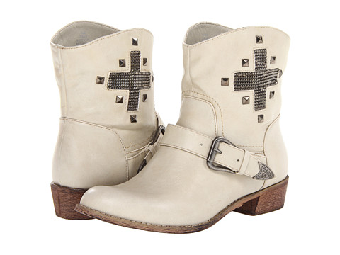 MIA - Musketeer (Off White) Women's Pull-on Boots