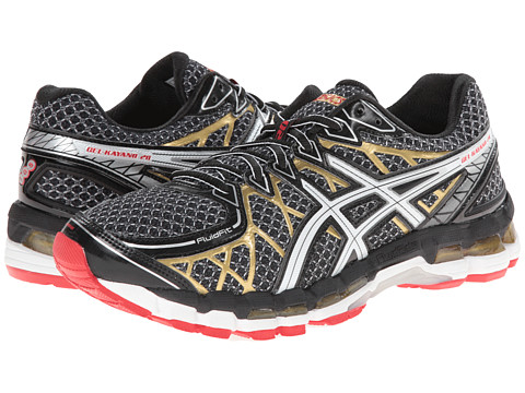 ASICS - Gel-Kayano 20 (Black/White/Gold) Men