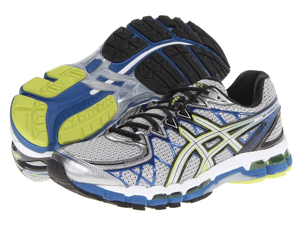 ASICS - Gel-Kayano 20 (Lightning/Silver/Royal) Men's Running Shoes