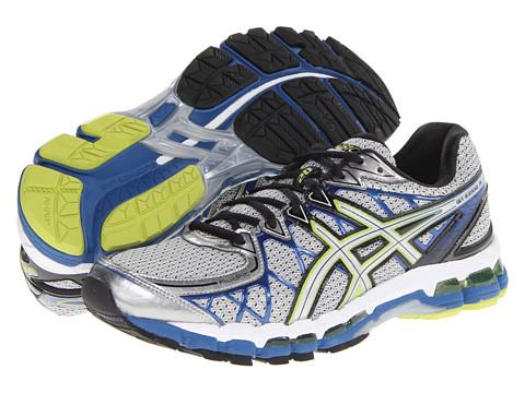 ASICS - Gel-Kayano 20 (Lightning/Silver/Royal) Men's Running Shoes